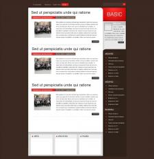 Веб-дизайн для стильного блога