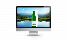 Адаптивний сайт компанії мінеральної води