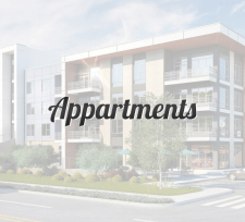 Создание сайта аренды квартир Appartments