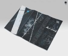 Буклет для Art выставки