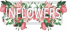 создание логотипа для цветочного сайта