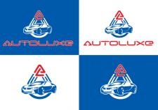 логотип для автомойки Autoluxe