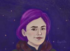 Стилизированый портрет
