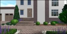 Стильный и лаконичный сад №2