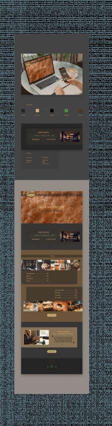 Англ страница landing page по готовому примеру