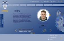 Сайт для ВЕБ - студии || uwdc.com.ua