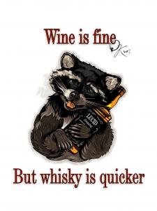 Принт. Виски