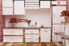 Кухня. Дневной свет (Квартира-студия)