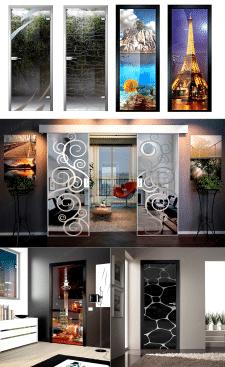 Визуализация межкомнатных дверей