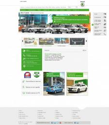 Сайт официального диллера SKODA, Joomla! 2.5