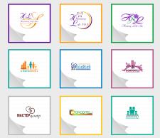 Логотипы в разных стилях 1
