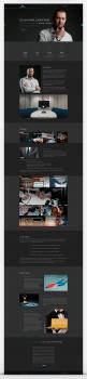 Дизайн сайта (лэндинг) для бизнес-тренера. +Моб.в.