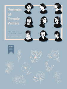 Portraits of female writers
