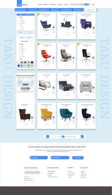 Интернет магазин по  мебели