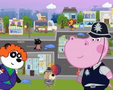 Детский полицейский участок: Гиппо Детектив. 2D