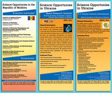 Exibition Banners Science Opportunuties UKRAINE