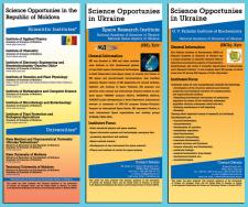 Exibition Banners Science Opportunuties UKRAINE