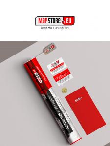 Лого Mapstore (магазин скретч-карт и постеров)