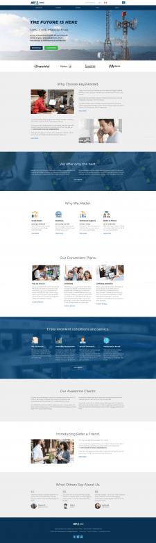 """Сайт """"Key2"""" -  Телекоммуникации и ИТ"""