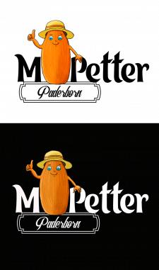 Логотип для продавца миндальных орехов