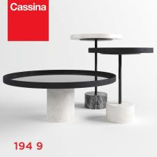 Моделирование и виз Cassina 194 9 Service Tables