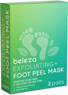 """Дизайн упаковки """"beleza - Foot Peel Mask"""""""