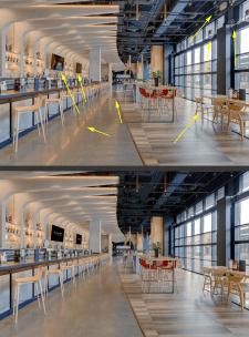 Обработка фотографий ресторана