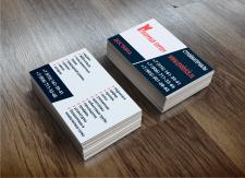 Разработка макета визитки для точек продаж стройма
