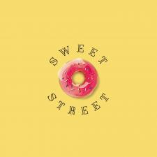 Логотип для точки продажу пончиків