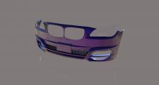 Bmw bumper 3d model