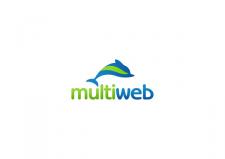 """Логотип агентства интернет маркетинга """"Multiweb"""""""