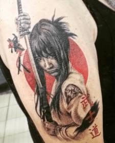 тату бусідо tattoo bushido