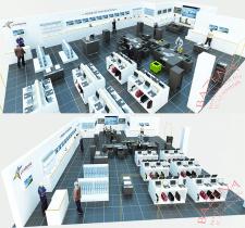 Магазин техники в ТЦ