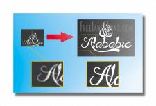 Перевод картинки логотипа в вектор . Векторизация