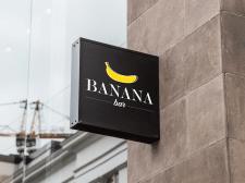 """вывеска """"BANANA bar"""""""