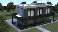 Дизайн и визуализация фасада дома