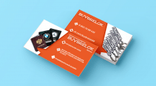 Дизайн визитки BUYBRELOK