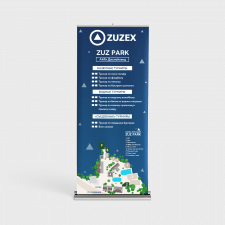 "Стенд Roll-up ""Zuzex"""