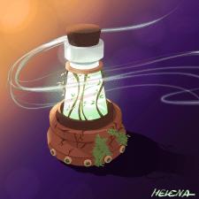Волшебный флакон