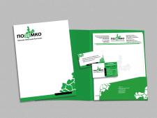 Логотип и фирменный стиль для земельной компании
