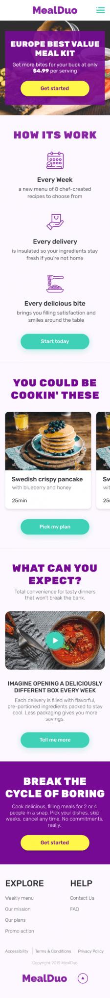 MealDuo - Subscription Fresh Food (Adaptive)
