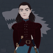 Arya portret
