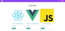 Магазин курсов (Node.js+Express)