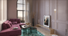 Apartment Interior Design / Ukraine