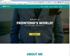 Адаптивные лендинги на Wordpress с админ. меню