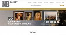 Сайт картинной галереи