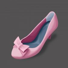 женский туфель
