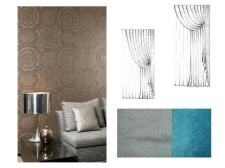 Декорирования текстилем