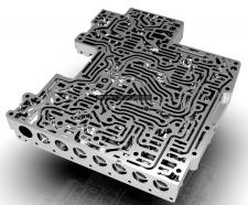 Моделирование/рэндр гидроблока акпп