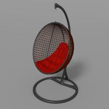Кресло-качели (Визуализация и моделирование)